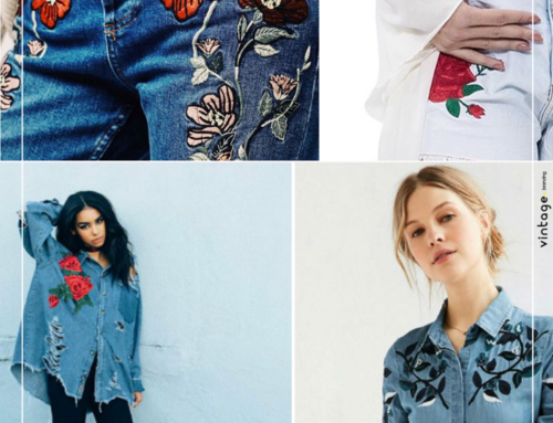 Jeans bordado: o hit do inverno 2017