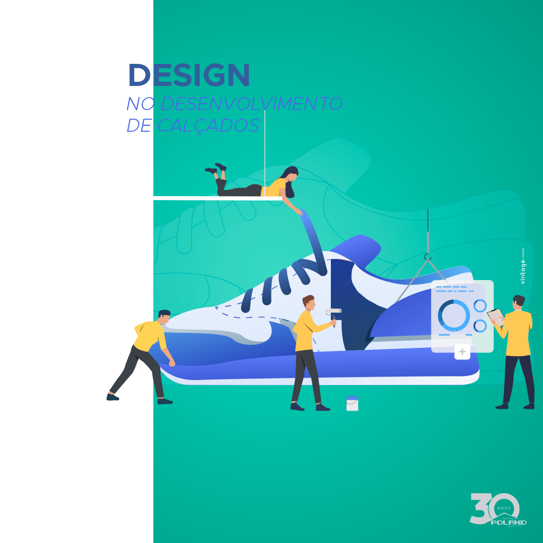 Desenvolvimento de calçados: design é essencial!